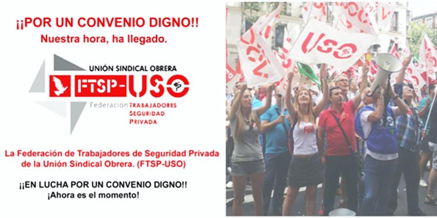 Movilizaciones el 7 de septiembre por un convenio digno para la Seguridad Privada