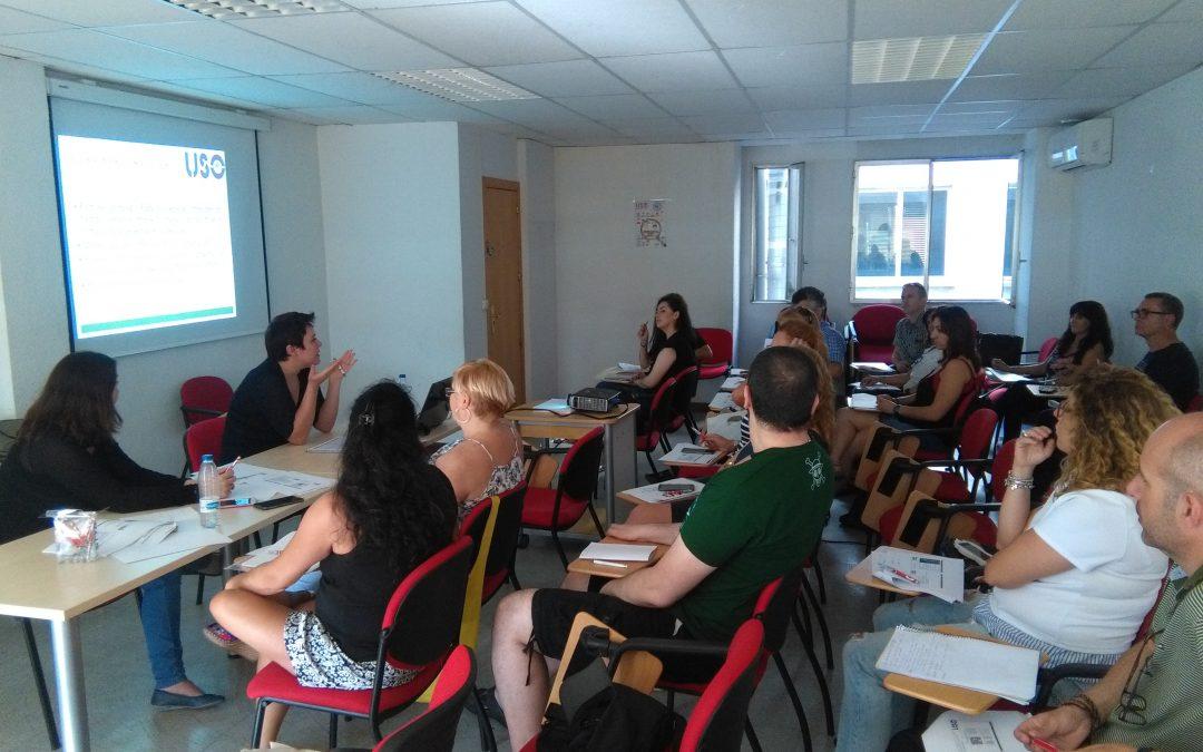 formación salud laboral USO Madrid
