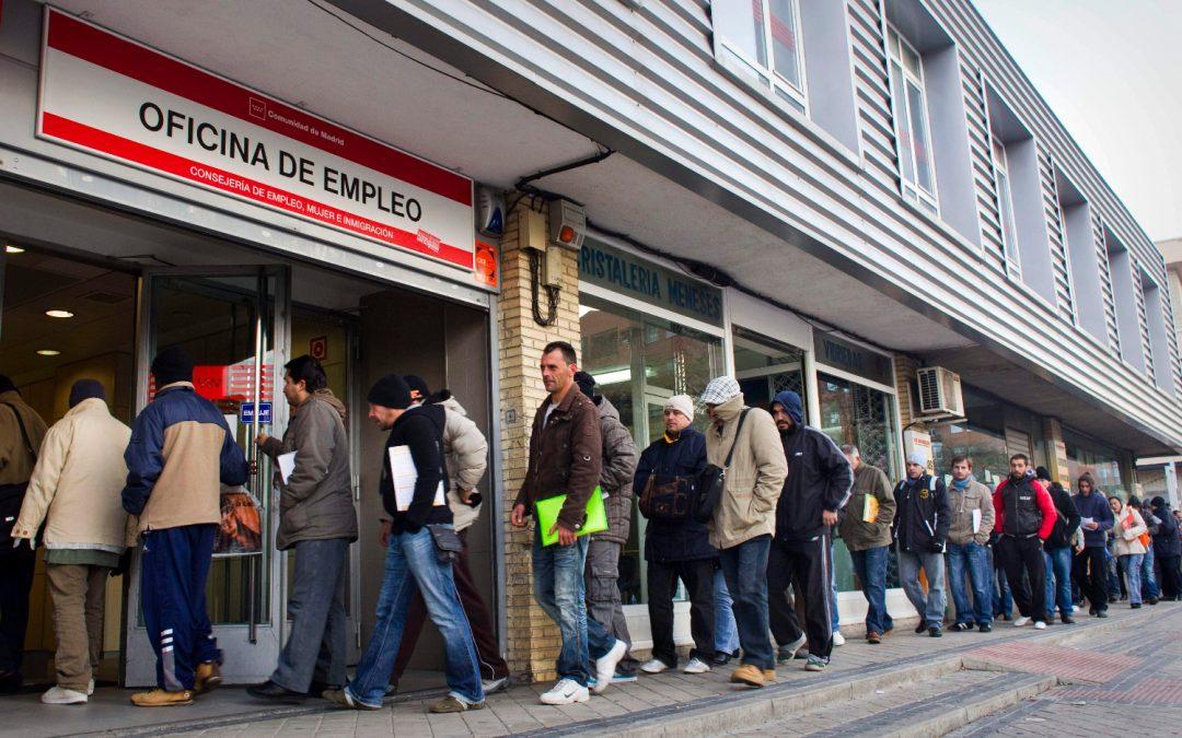 El número de parados en la Comunidad de Madrid ha aumentado un 0,08%