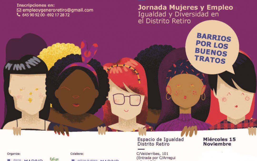 USO-Madrid, en la Jornada de Mujeres y Empleo