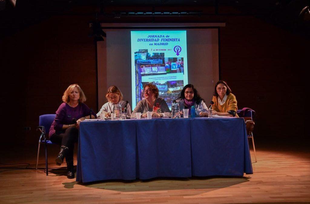 USO-Madrid participó en la Jornada de Diversidad Feminista