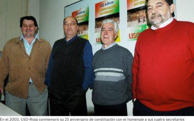 Manuel Zaguirre relata la labor del recién compañero fallecido Carlos Solas