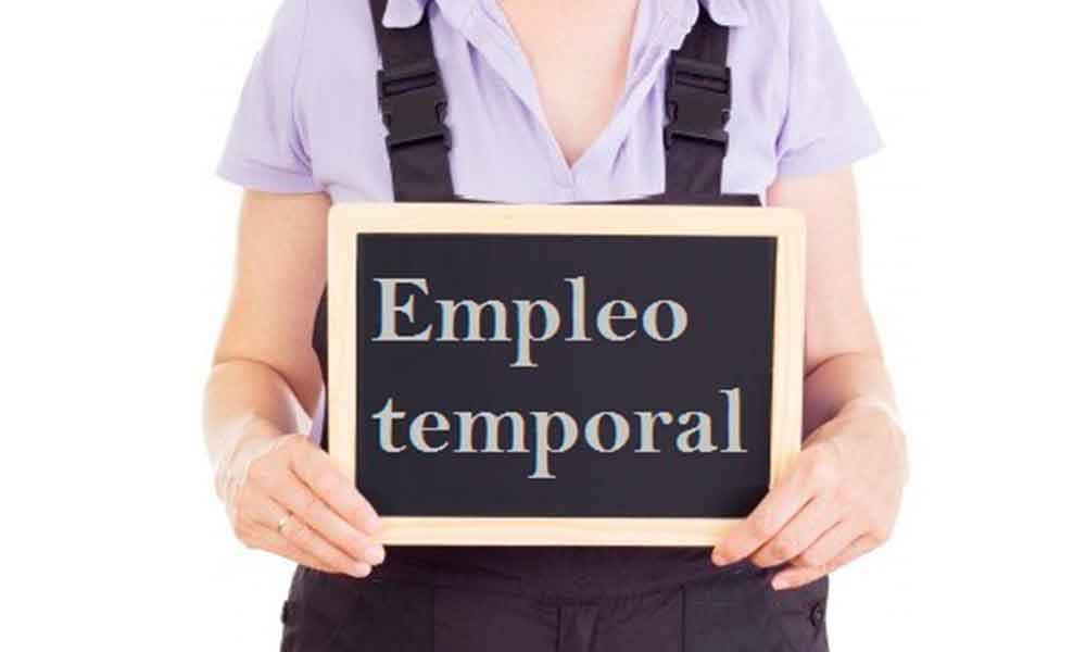 El desempleo baja pero la temporalidad se hace crónica