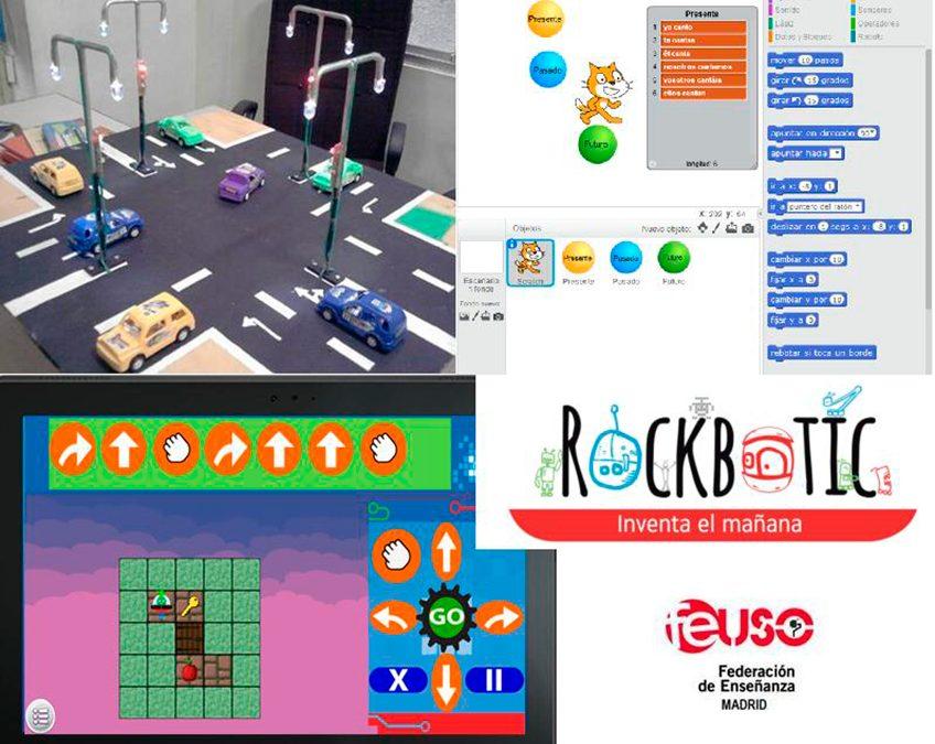 Cursos presenciales de Robótica y Tecnología para profesores la sede de USO-Madrid
