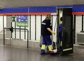 limpieza metro