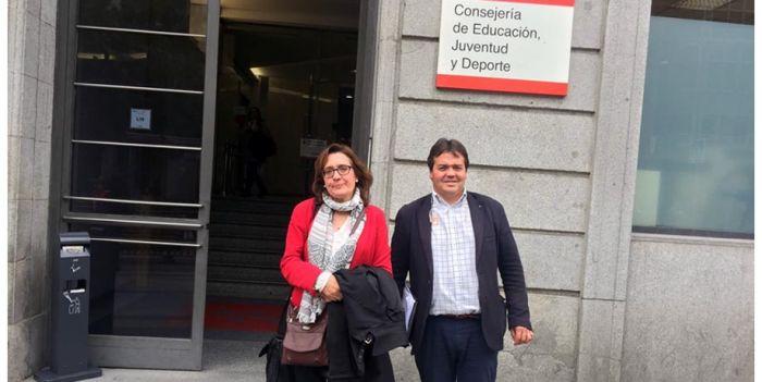 Enseñanza de USO-Madrid conversa con la consejería para implementar mejoras en la Concertada