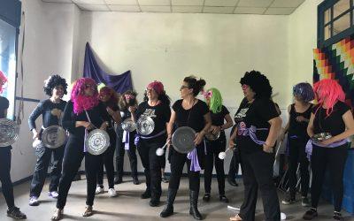 USO-Madrid apoyando el observatorio de empleo de hogar Jeanneth Beltrán