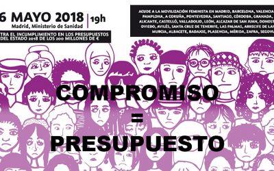 USO exige el cumplimento del Pacto de Estado y se suma a la Movilización Feminista del 16 de mayo