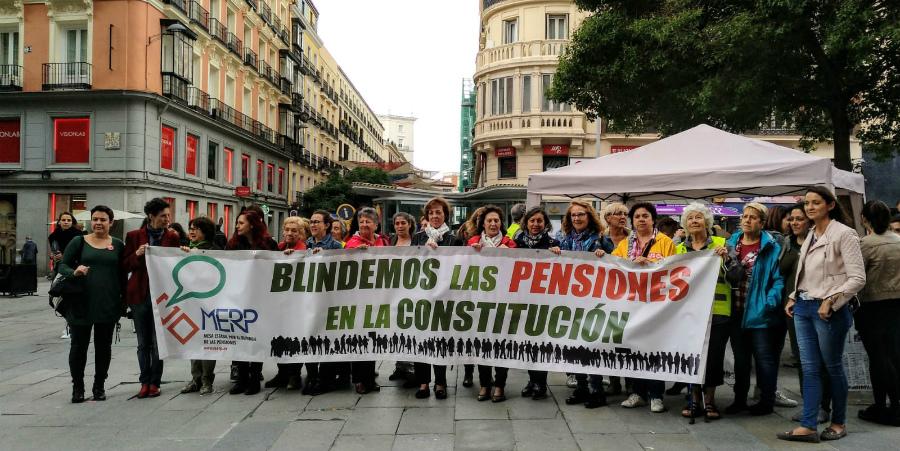 Mañana nos manifestamos con la MERP por el blindaje de las pensiones