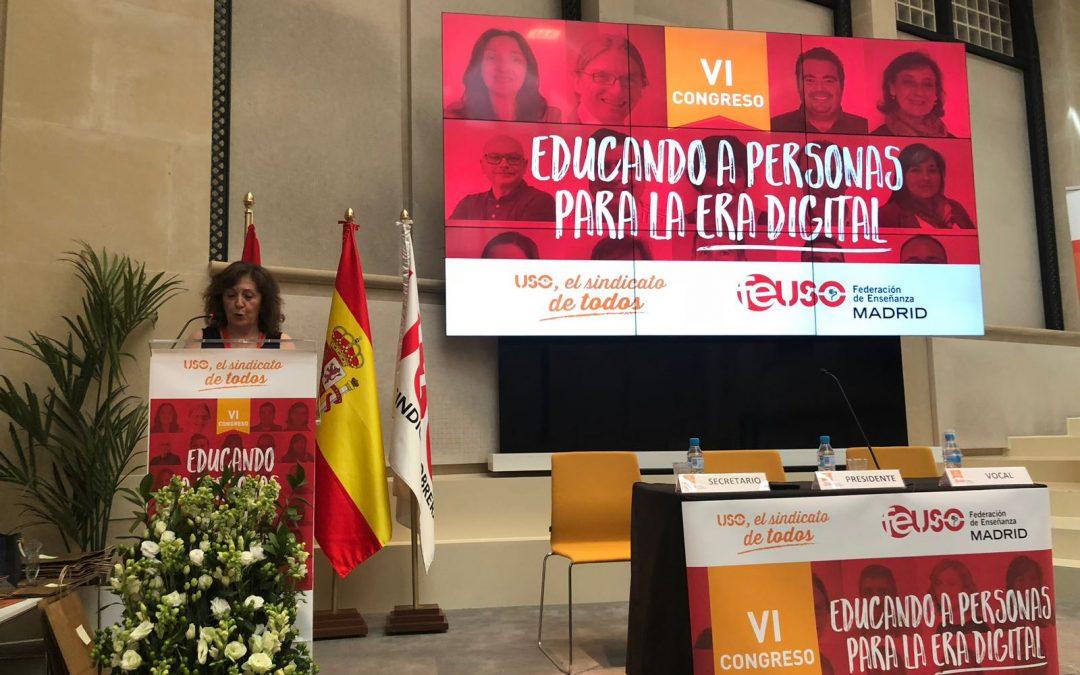 """""""Celebrado el VI Congreso de FEUSO – Madrid: """"Educando a personas para la era digital"""""""