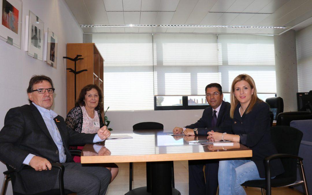Reunión USO-Madrid y PP Asamblea de Madrid