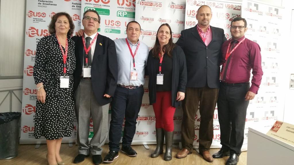 Elegida la nueva ejecutiva de USO-Madrid en su IX Congreso Regional