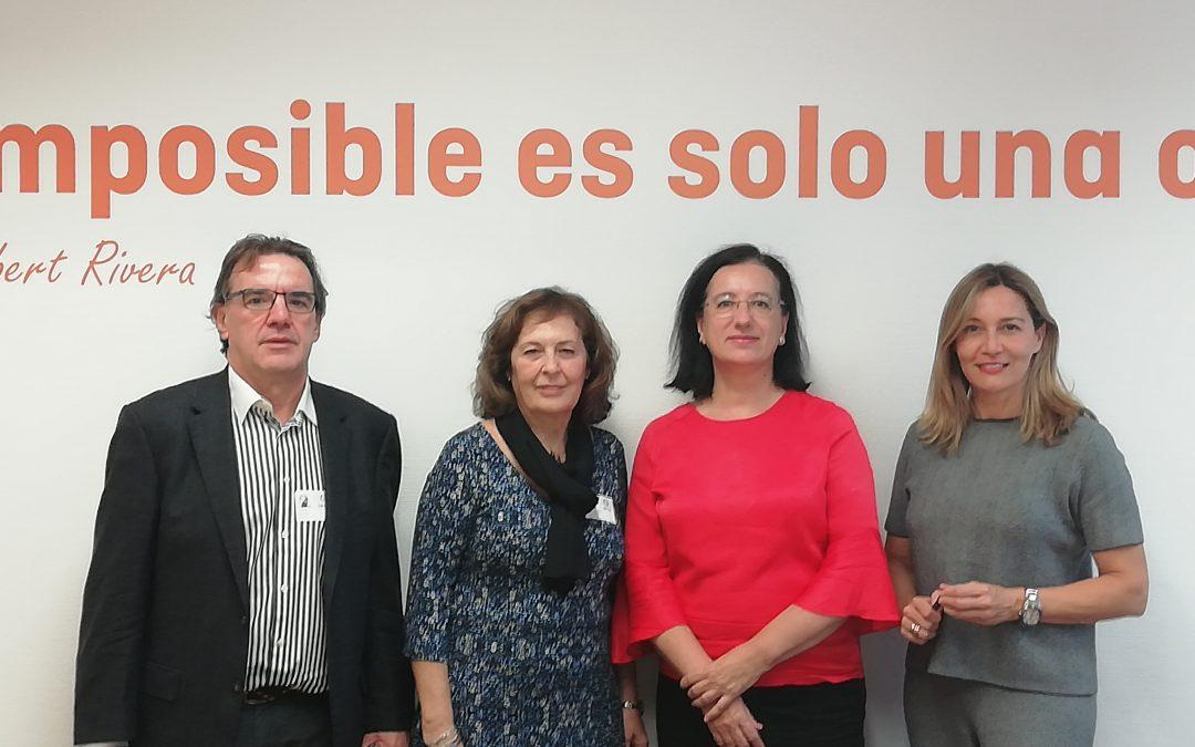USO-Madrid se reúne con Cs en la Asamblea para encontrar soluciones al paro de larga duración
