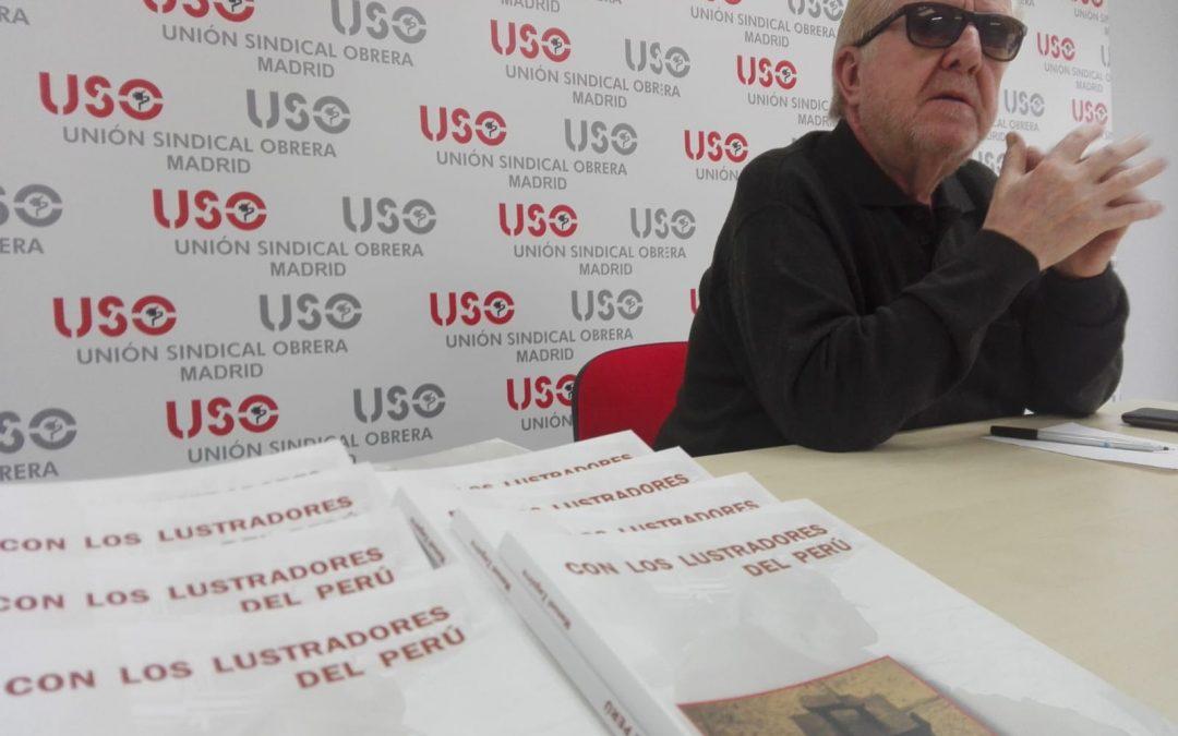 """Zaguirre presenta su libro solidario """"Con los lustradores del Perú"""""""