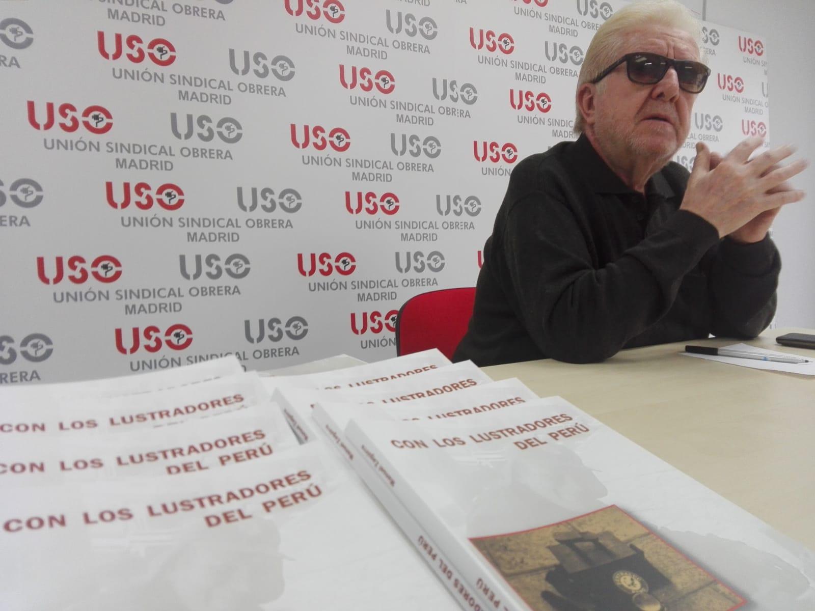 """Manuel Zaguirre presenta """"Con los lustradores del Perú"""""""