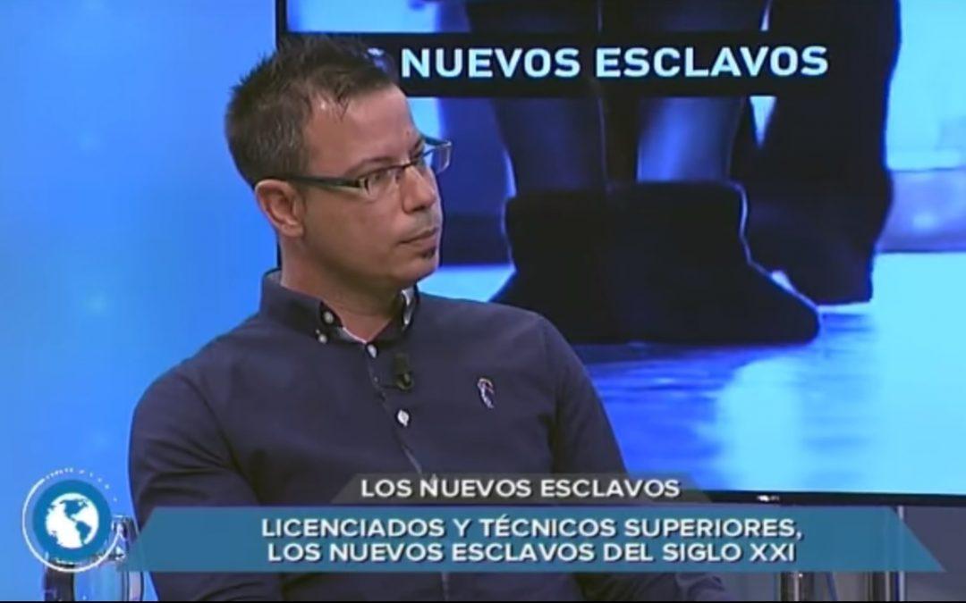 """USO-Madrid analiza la precariedad laboral en el programa """"Los nuevos esclavos"""""""