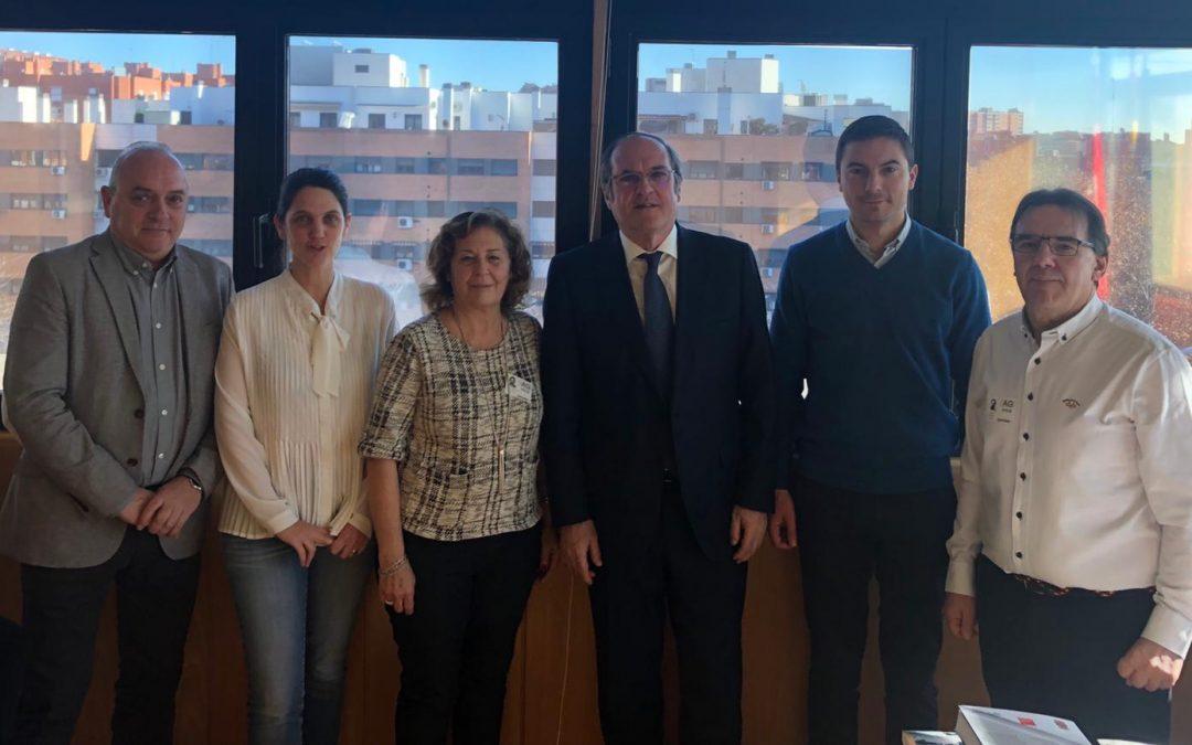 USO-Madrid se reúne con el PSOE en la Asamblea para analizar el empleo, la industria y la educación