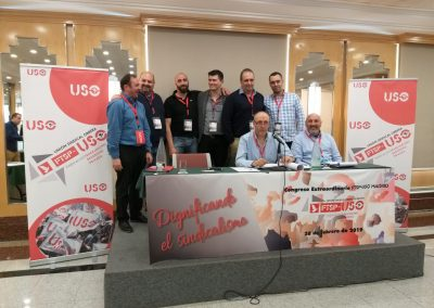 Congreso Extraordinario de FTSP-USO Madrid.