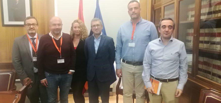Reunión entre representantes de FIUSO y el Ministerio de Transición Ecológica