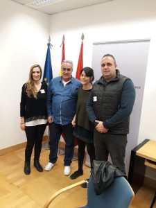 Reunión de FTSP-USO y el grupo parlamentario de Podemos Madrid.
