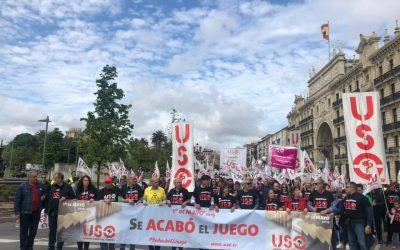USO anula el acto del 1 de Mayo en Burgos
