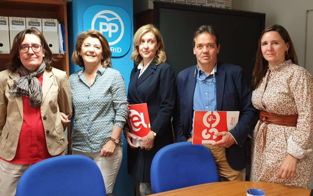 FEUSO Madrid se reúne con el PP para hablar de educación