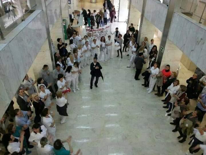 Los limpiadores del Hospital 12 de Octubre ponen fin a la huelga indefinida tras conseguir sus objetivos