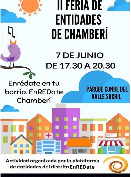 La II Feria de Entidades de Enredate Chamberí llega este viernes