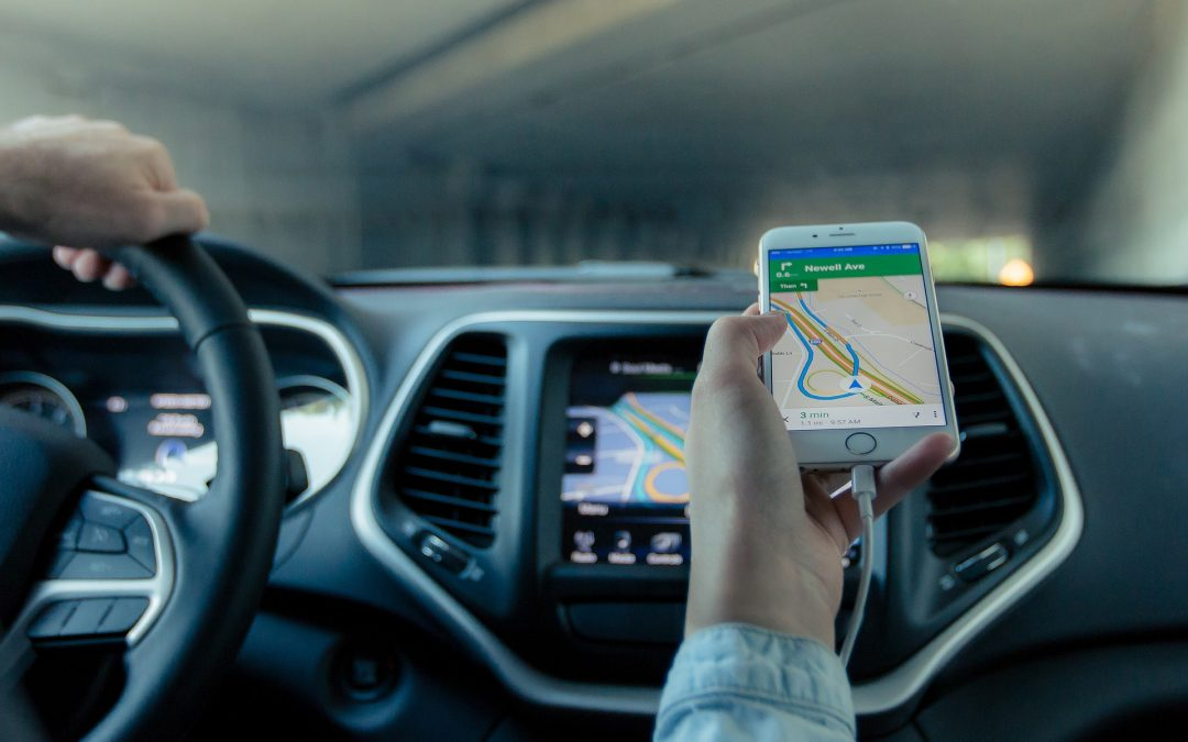 Furgoneta con sistema de GPS