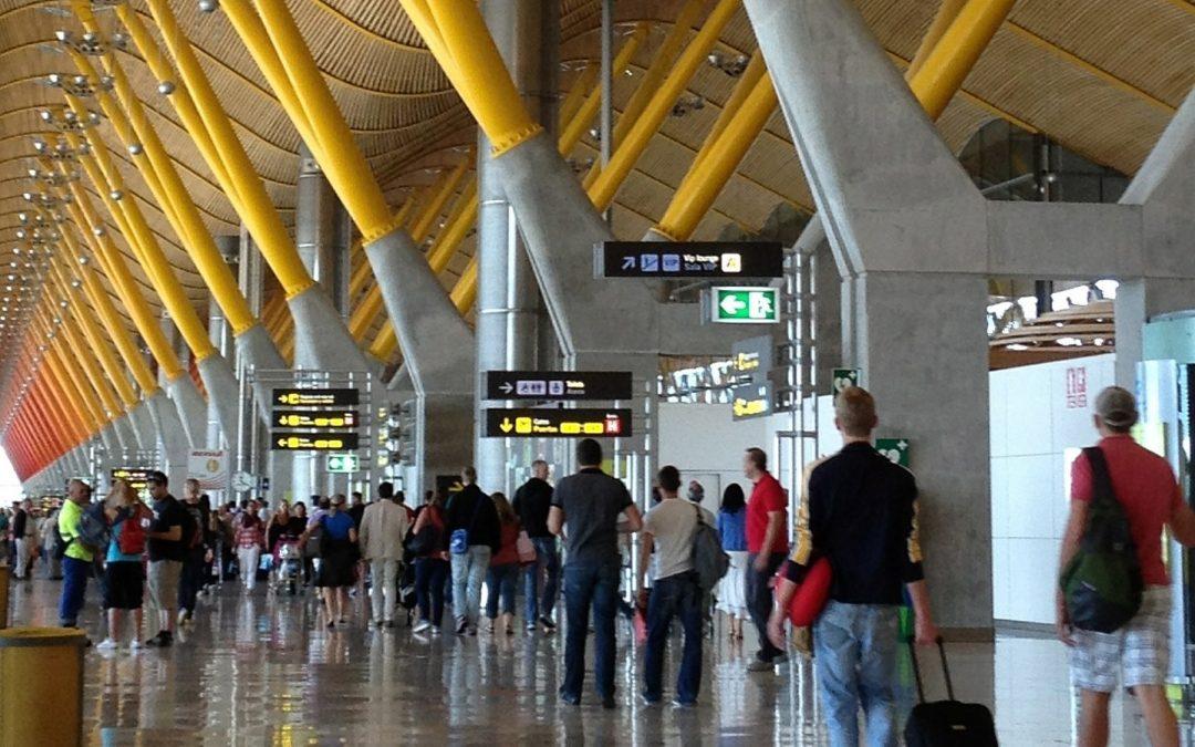 Terminal T4 del Aeropuerto Madrid Barajas-Adolfo Suárez