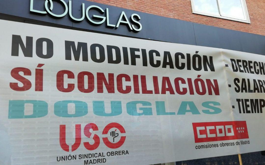 Preacuerdo con Douglas tras dos jornadas de huelga
