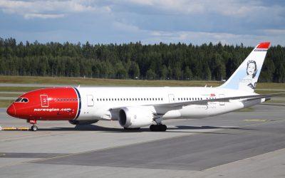 USO denuncia que el cierre de la base de Norwegian en Madrid pone en peligro 170 empleos