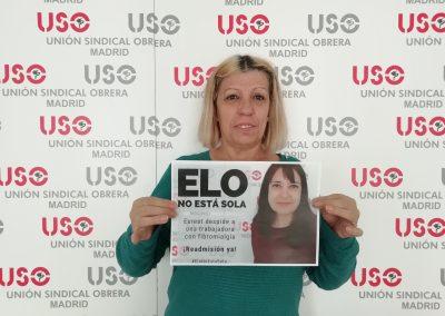Josefina Chao, compañera de USO-Madrid