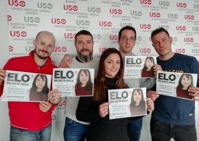 Delegados de USO-Madrid en Ferrovial Sab
