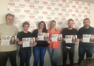 Comité de empresa de PSA de USO-Madrid.