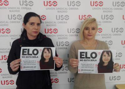 Delegadas de Bodybell de USO-Madrid