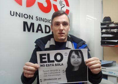 Delegado de USO-Madrid en Ferrovial 12 de Octubre.