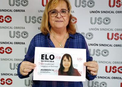 Laura Hurtado, responsable de la unión territorial de Málaga.