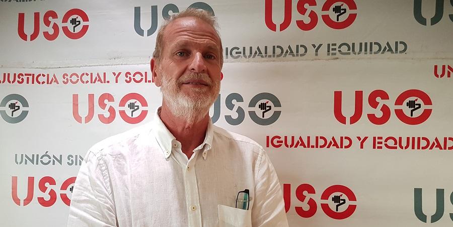 Luis Deleito, secretario general de FAC-USO.