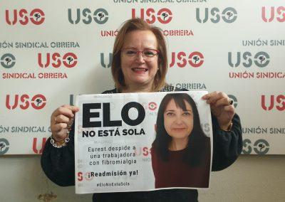 Compañera de USO Castilla-La Mancha.