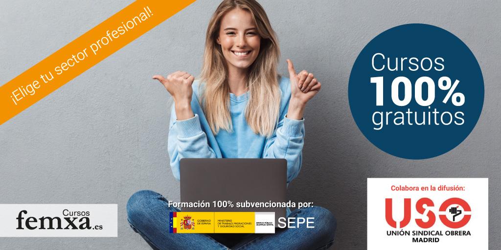 Nuevos cursos online gratuitos financiados por el SEPE