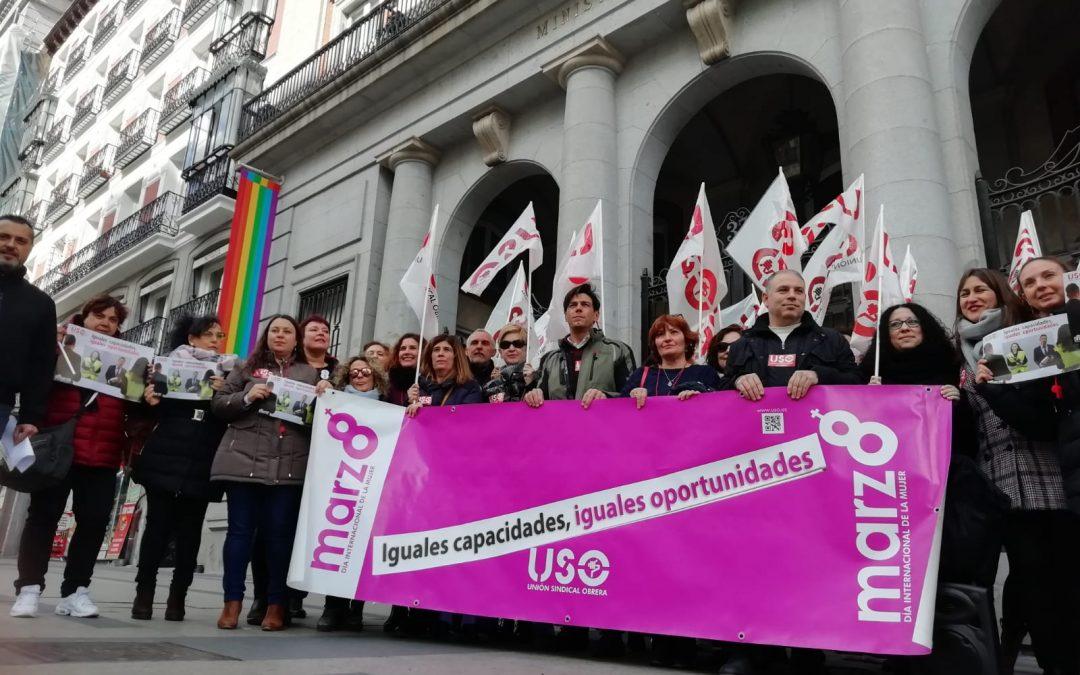 """En el 8M, USO reclama que """"a iguales capacidades, las mujeres tengan iguales oportunidades"""""""