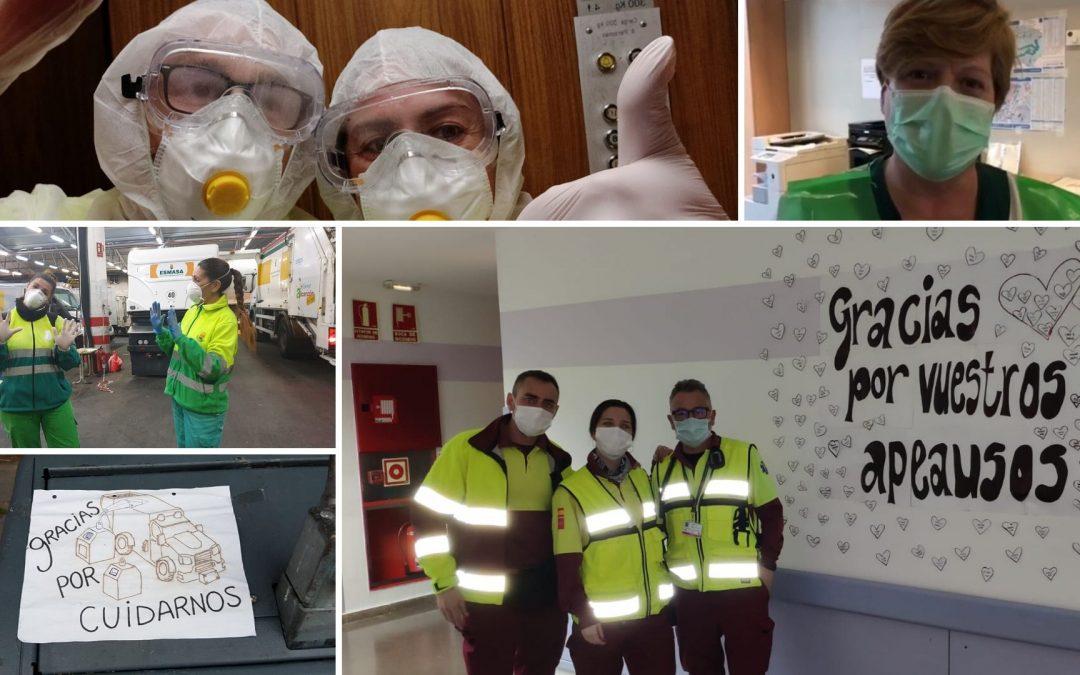 """Ambulancias, limpieza, teleoperadores, vigilantes… USO-Madrid celebra """"El valor de tu trabajo"""" este 1º de Mayo"""