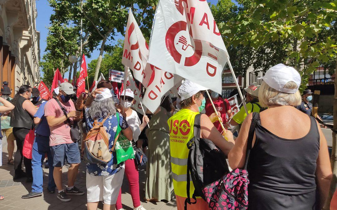 USO y sindicatos policiales se concentrarán este lunes contra la brutal bajada salarial en el Ayuntamiento de Paracuellos del Jarama