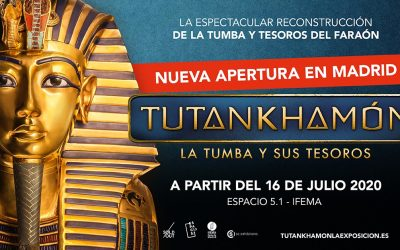 'Tutankhamón: la tumba y sus tesoros' ofrece descuentos para afiliados