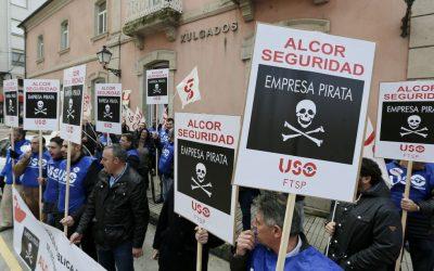 """La """"empresa pirata"""" Alcor, imputada por amenazas y coacciones a vigilantes del SEPE"""