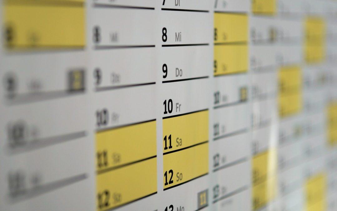 Calendario laboral de 2022 en Madrid