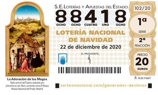 Ya está disponible la lotería de Navidad de USO-Madrid