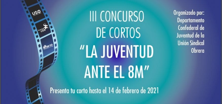 """Nueva edición del Concurso de Cortos """"La juventud ante el 8M"""""""