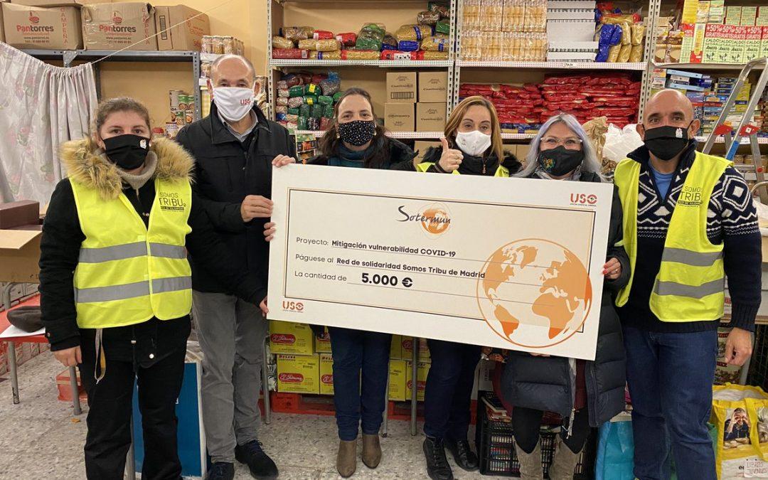 SOTERMUN destina 5.000 euros al proyecto solidario de la Asociación Somos Tribu de Entrevías (Vallecas)